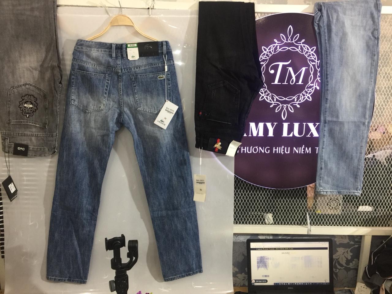Mua quần jean nam đẹp ở tphcm