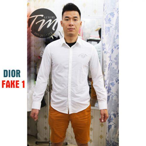 Áo sơ mi Dior Nam Fake Đẹp TMASM07