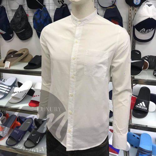 Áo sơ mi trắng nam đẹp TM Luxury Vhite TMASM04