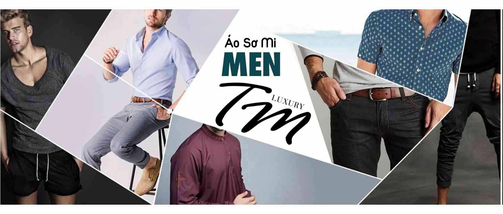 Áo sơ mi nam【TM Luxury Shop】✦ Mới Nhất 2019