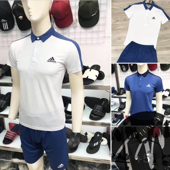 Áo thun polo Adidas có cổ siêu đẹp【BST 4 màu】Đẹp * Chỉ 350k.