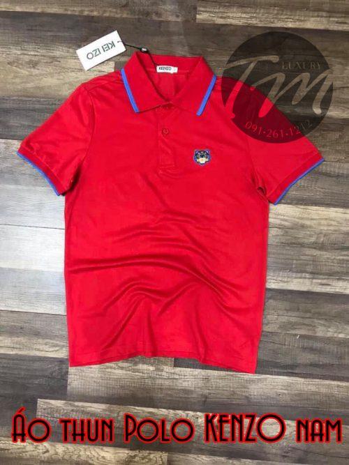 Áo thun nam Polo Kenzo đỏKenzo trắng đẹp TMAT01