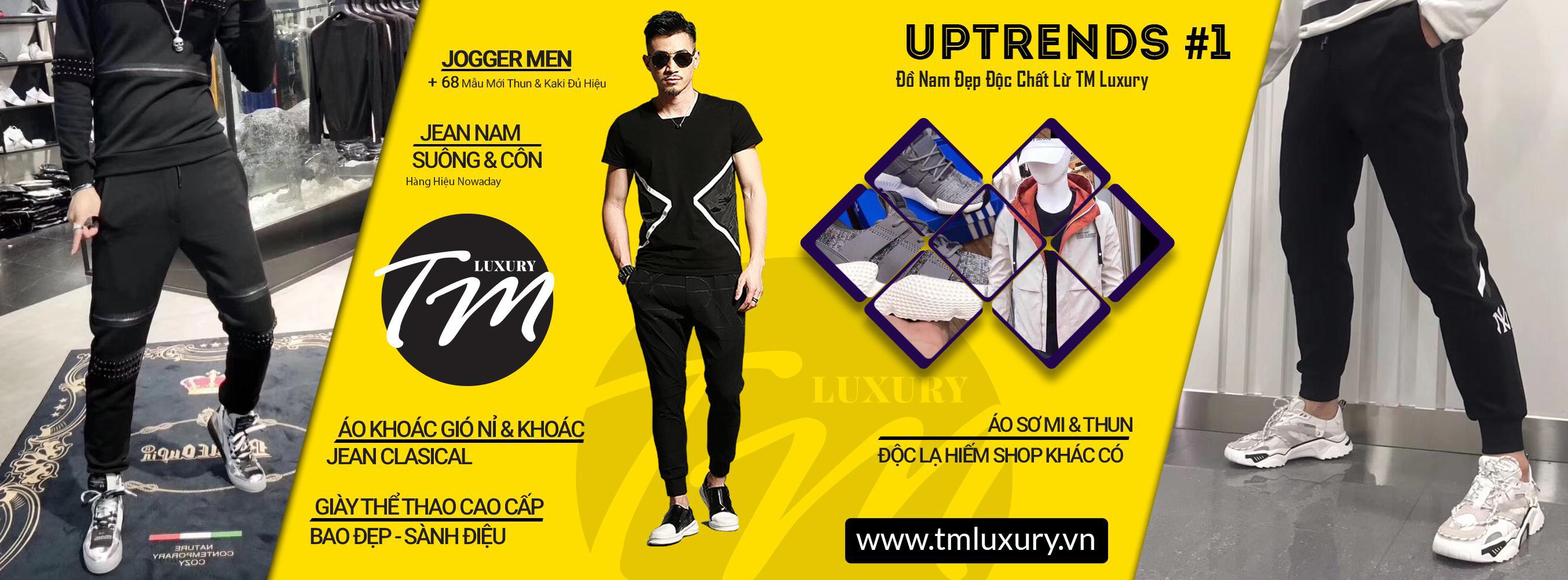 Banner shop thời trang nam tphcm tmluxury