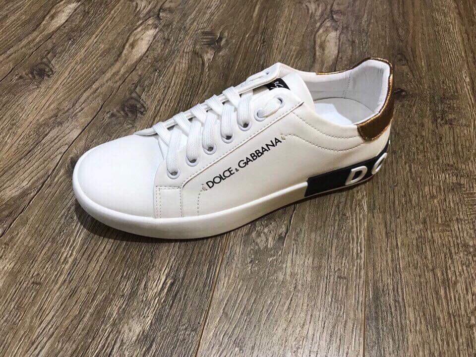 Giày thể thao nam Dolce & Gabbana trắng siêu đẹp