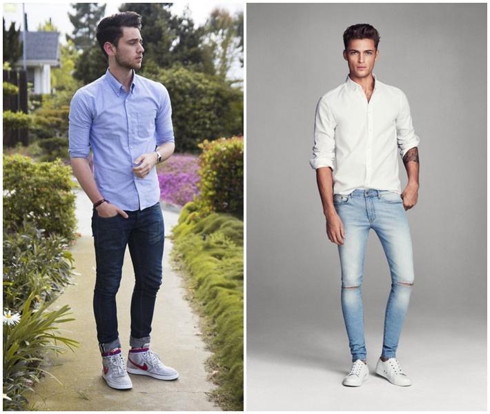 Guu thời trang nam đơn giản tổng hợp