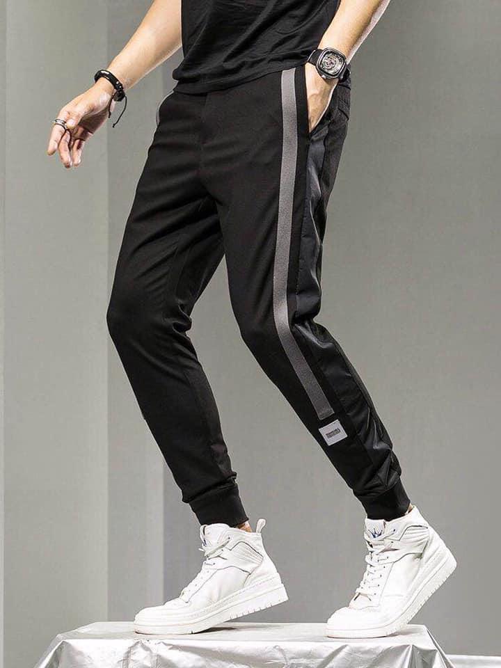 Mẫu quần jogger thun cao cấp cho nam