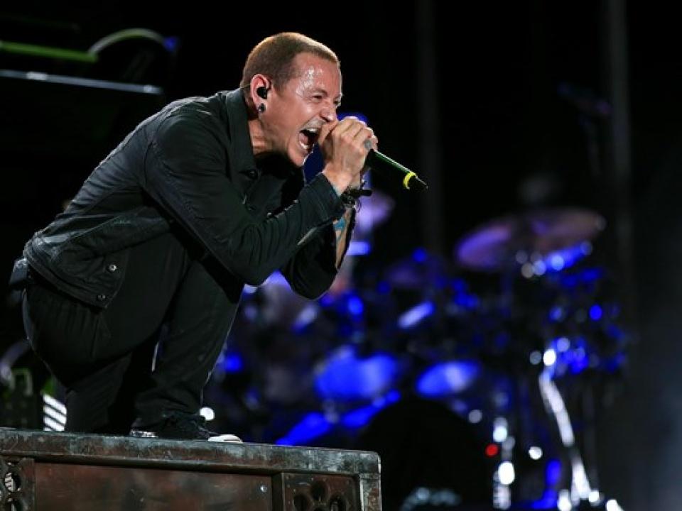 Linkin Park Áo jean đen cực chất