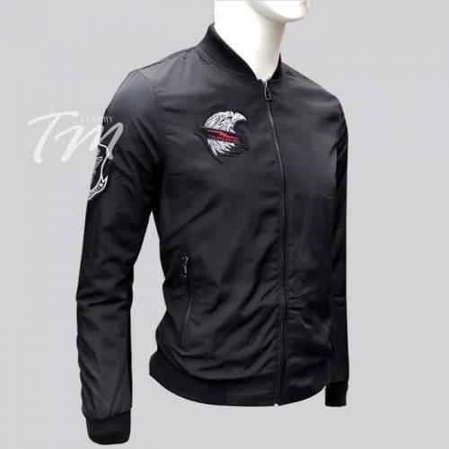 Mẫu áo gió nam đẹp tôn độ manly TMAK09 đen