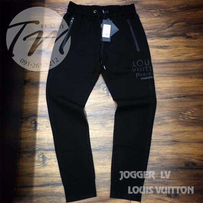 Mẫu jogger nam LV Louis Vuitton siêu hot mã số TMJG20