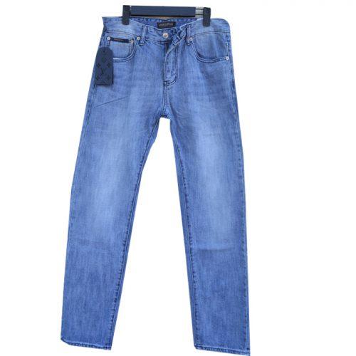 Mẫu quần jean nam đẹp hàng hiệu Luis Vuition
