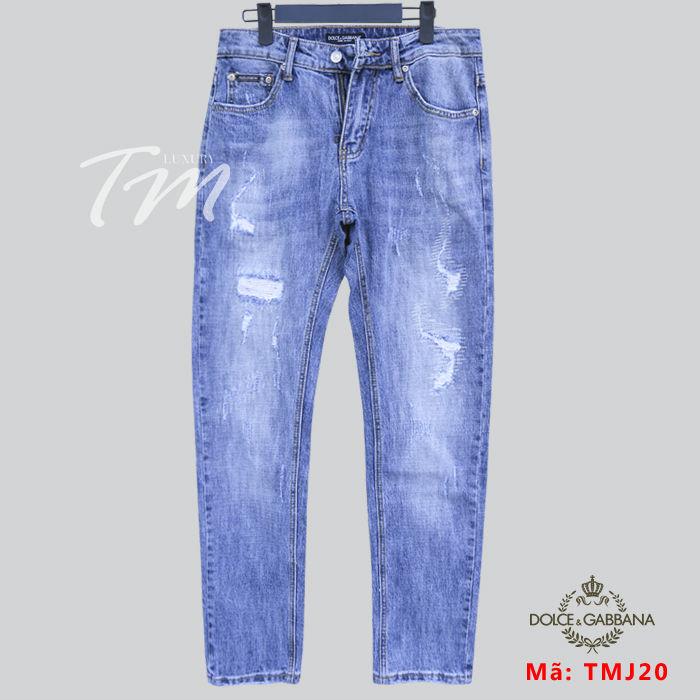 Quần bò rách nam TMJ20 D&G Dolce & Gabbana