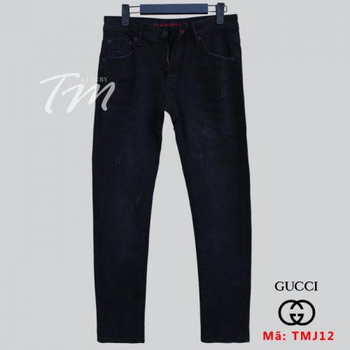 Quần jean đen đẹp TMJ12 thời trang 4 mùa