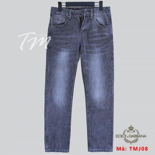 Quần jean nam đẹp năm nay TMJ08 hiệu D&G chất lừ