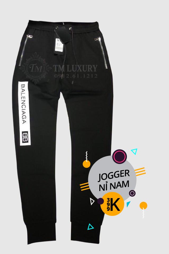 Quần Jogger Nam Đẹp Vải Thun Tốt - Vải Nỉ Xịn