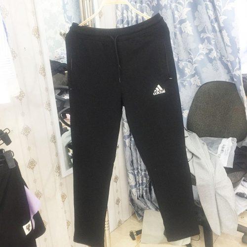 Quần thun thể thao nam đẹp TMQT04 hiệu Adidas đen