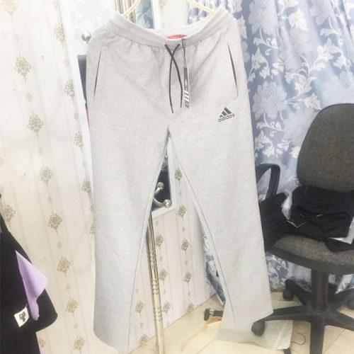Quần thun thể thao nam đẹp TMQT04 hiệu Adidas xám