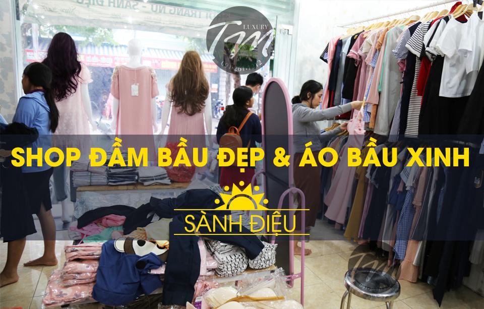 Shop đầm bầu đẹp thời trang Tm Luxury